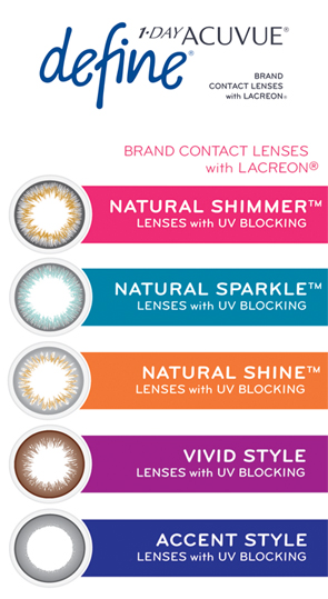 Color Contact Lenses C U Vision Optometrists